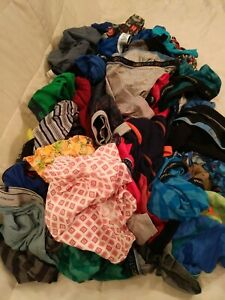 88 Pair Of Boys Underwear Briefs Boxerbriefs Hanes Fotl