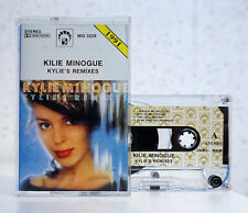 KYLIE MINOGUE - Kylie's Remixes - cassette tape 1991 (MG Records)