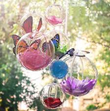 20x Plastic Acrylic Balls Fillable Sphere Bauble Craft Christmas Gift Box Decor