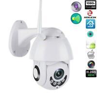 1080P WIFI IP Camera WHITE Wireless Outdoor CCTV HD Room Security-IR Cam