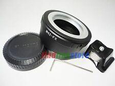 tripod M42 Lens to Fujifilm Fuji FX X mount X-Pro1 X-E1 X-E2 X-M1 mount adapter