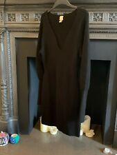 H&M TREND BLACK WOOL MIX RIB KNIT SHORT DRESS - SIZE M MEDIUM BNWOT RRP £49.99