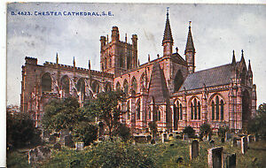 Cheshire Postcard - Chester Cathedral - South East    MB764