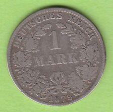 Kaiserreich 1 Mark 1873 D der erste Jahrgang dieses Nominals nswleipzig
