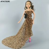 """Leopard Fashion Doll Dress For 11.5"""" 1/6 Doll Clothes Outfits Gown Party Dresses"""