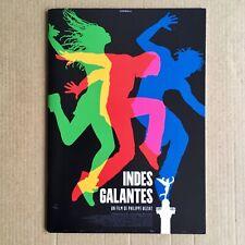 Rare Dossier de Presse French Press Book INDES GALANTES Philippe Beziat