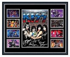 KISS 2018 KISSWORLD SIMMONS STANLEY SIGNED LIMITED EDITION FRAMED MEMORABILIA