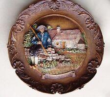 Jacquou le Croquant Périgord murale assiette bois artisanal fait main France