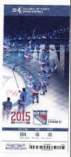 2015 NEW YORK RANGERS VS PITTSBURGH PENGUINS PLAYOFFS TICKET STUB GAME #7