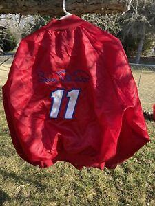 Bill Elliot #11 Budweiser Racing Windbreaker Jacket size xl