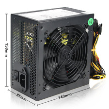 PC COMPUTER ALIMENTATORE 750 Watt sl-750w 130mm VENTOLA ALIMENTATORE 750w SATA A...