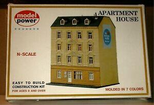 MODEL POWER - APARTMENT HOUSE KIT  #1540 - N TRAIN