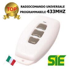 RADIOCOMANDO PROGRAMMABILE 433MHz 11/10310 111031000 elcart MAS433BI