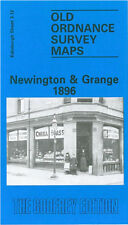OLD ORDNANCE SURVEY MAP EDINBURGH NEWINGTON & GRANGE 1896