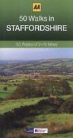 50 Walks in Staffordshire (AA 50 Walks series), AA Publishing, New condition, Bo