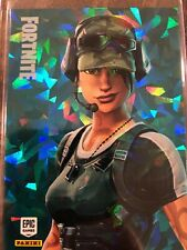 Fortnite Holofoil Cracked Ice Crystal Shard Card Trailblazer P1