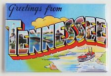Greetings from Tennessee Fridge Magnet travel souvenir