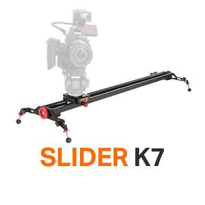 """Konova Slider K7 150cm(59.0"""") Compatible Motorized System Camera Video Dolly"""