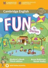 FUN FOR STARTERS STUDENT'S BOOK WITH AUDIO WITH ONLINE ACTIVITIES 3RD EDITION...