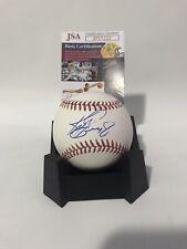 KEN GRIFFEY JR Autographed Signed Official Baseball The Kid HOF 2016 MLB JSA COA