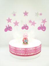 Cake Topper Figure Decoration Birthday - PEPPA PIG - Decoration Set