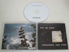 CAT ON FORM/STRUCTURE AND FEAR(SOUTHERN RECORDS28105-2) CD ALBUM