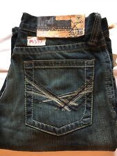 Mens New Ariat 31X36 M4 Tracker Duster Low Rise Boot Cut Relaxed Fit Jeans