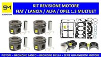 KIT REVISIONE MOTORE FIAT PUNTO GRANDE PUNTO 1.3 MULTIJET MTJ 16V 1300 cc