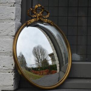 Gorgeous Mid Century Modern French XVI Style Sunburst Starburst Convex Mirror