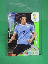 Panini #313 Edinson Cavani Star Player Fifa World Cup Brasil 2014 Adrenalyn XL