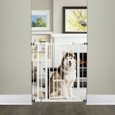 """Carlson 36""""H Extra Tall Pet Gate with Small Pet Door"""