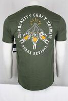Roark Men's X Zero Gravity Short Sleeve T-Shirt Medium Army Green