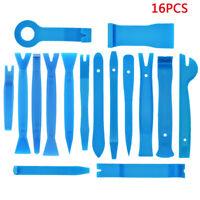 16PCS Plastic Car Radio Door Clip Panel Trim Dash Audio Removal Pry Kit Tool Hot