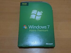 Microsoft Windows 7 Home Premium Upgrade (License + Media)