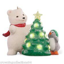 2015 Hallmark Snowball and Tuxedo 15th Anniversary Keepsake Ornament Tree Series