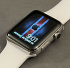 Apple+Watch+42mm+Series+2+Stainless+Steel+Silver+EXCELLENT+COND.