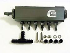 VMS VACUUM INTAKE MANIFOLD FUEL GAS TURBO WASTEGATE BOOST PERFORMANCE GUN METAL