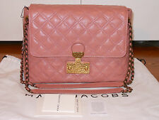 NWT Marc Jacobs $1050 Extra Large Baroque Single Quilted Shoulder Bag Handbag