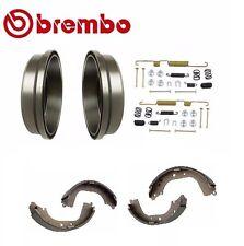 Rear 2 Brembo Brake Drums, Enduro Shoe and Hardware Kit For Toyota 4Runner 21080