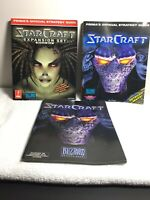 Starcraft Prima Official Strategy Guide + Brood War Guide, Manual