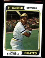 1974  TOPPS #100 WILLIE STARGELL PIRATES NM/MT D016201