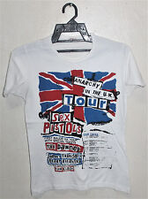 VINTAGE 70's SEX PISTOLS ANARCHY IN THE UK TOUR T-SHIRT PUNK ROCK THE DAMNED