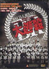 Battle Royale 1 DVD Takeshi Kitano Tatsuya Fujiwara Japanese NEW R3 Eng Sub