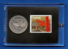 Winnipeg  1874-1974  Canada  Commemorative    Stamp & Coin Set