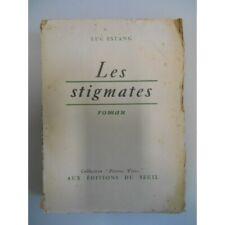 Les stigmates / Estang, Luc / Réf37788