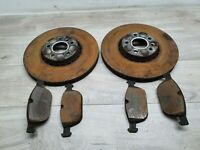 VOLVO XC60 FRONT BRAKE DISC VENTED PAIR LEFT AND RIGHT WITH BRAKE PADS 33CM
