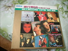 a941981 Madonna Duran Duran ETC Taiwan LP 1985 Billboard Hits Number 25