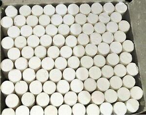 White Dustless Chalks -100Pc Us