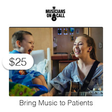 $25 Charitable Donation To Bring Music to Patients and Caregivers