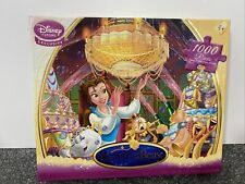 Disney Store Beauty And The Beast Limited Edition 1000 Piece Jigsaw Puzzle